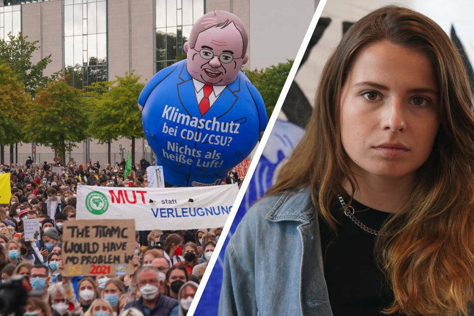Fridays-for-Future-Demo: Luisa Neubauer kritisiert Scholz und bezichtigt Laschet der Lüge