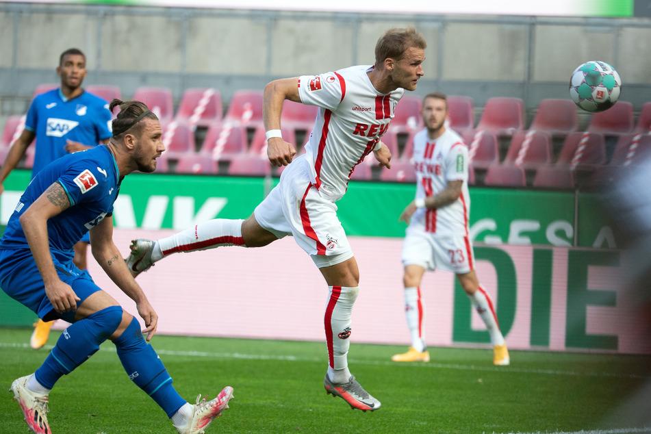 Sebastian Andersson (29) traf direkt in seinem ersten Spiel für Köln gegen Hoffenheim.