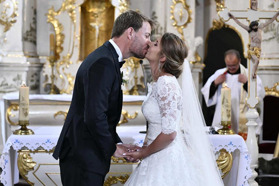 Gerald und Anna gaben sich bereits Ende Juli das Ja-Wort.