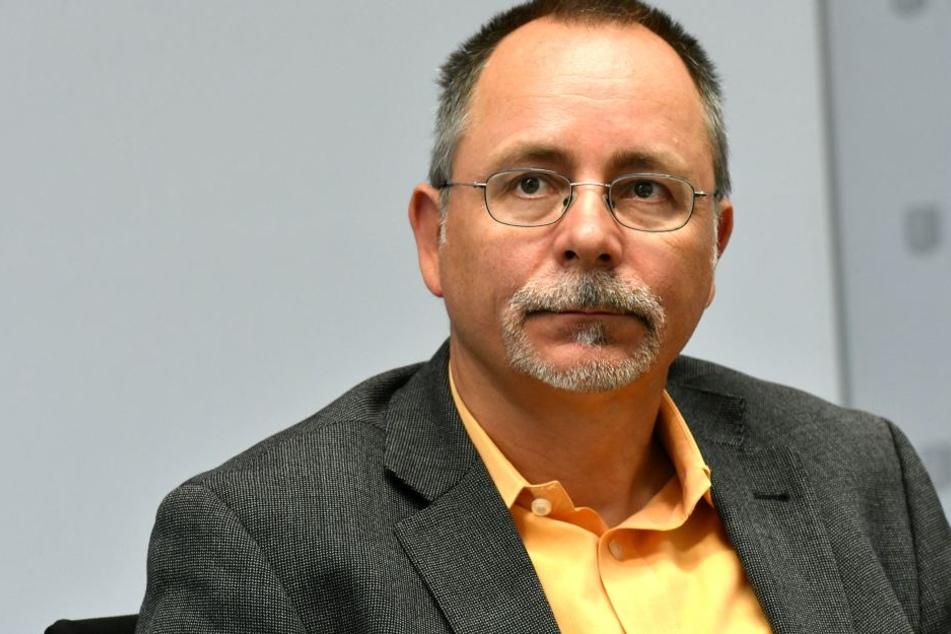 Das Gesicht der Verwaltung in der Neustadt: Ortsamtsleiter André Barth (50).