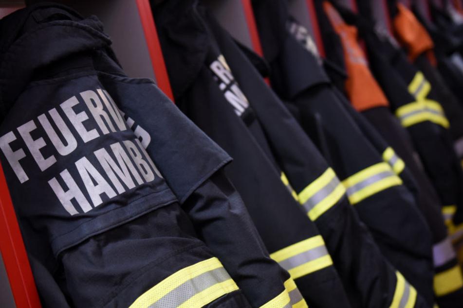 Die Feuerwehr Hamburg verhinderte Schlimmeres. (Symbolbild).