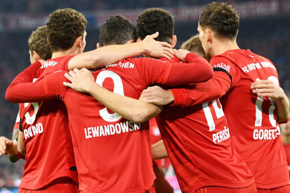 Der FC Bayern München ließ dem FC Schalke 04 in der Allianz Arena keine Chance.