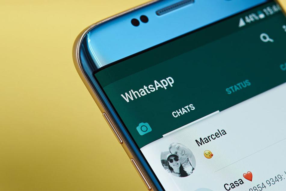 Das gleichzeitige Weiterleiten von WhatsApp-Nachrichten wird begrenzt.