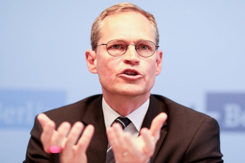 Michael Müller bekommt zwei neue stellvertretende Vorsitzende.