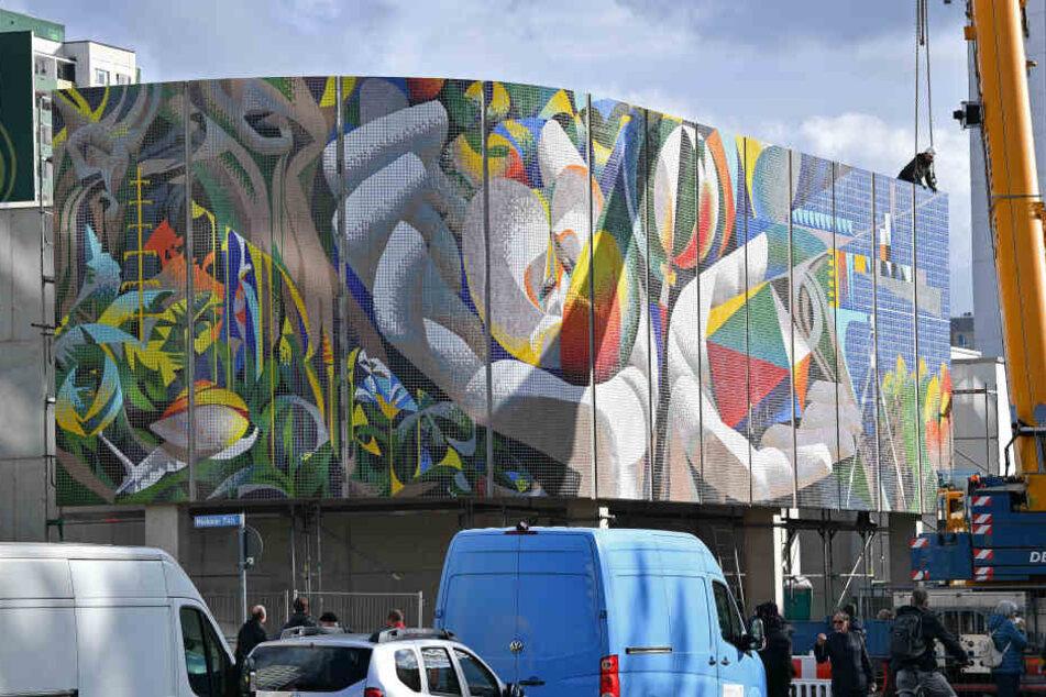 DDR-Mosaik kehrt an alten Standort in Erfurt zurück