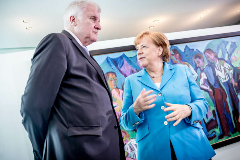 Horst Seehofer und Angela Merkel konnten bei ihrem Asylstreit keine Einigung erzielen.