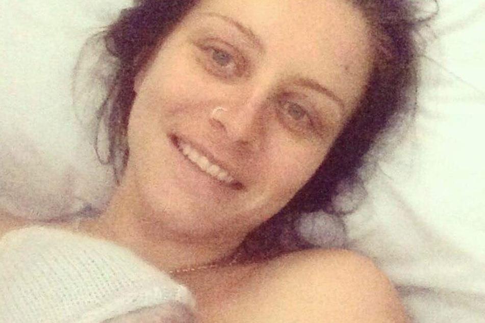 Millers Mutter Sophie bei der Geburt ihres Sohnes.