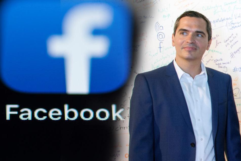 Martin Ott ist Facebook-Europachef.