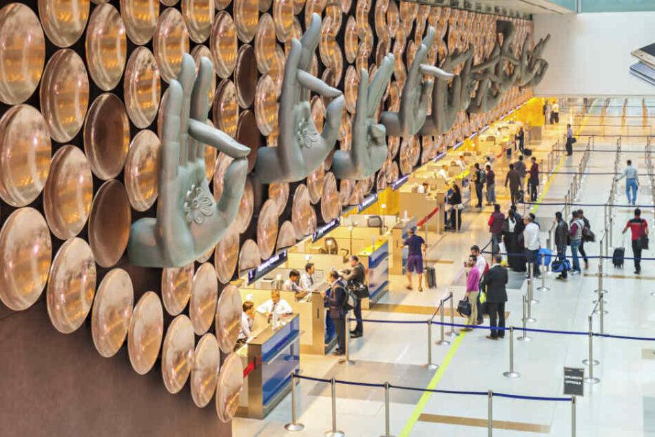 Der Betrug ereignete sich am Dienstag am Indira-Gandhi-Flughafen.