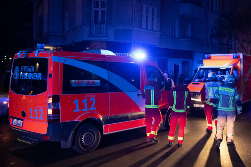Die Feuerwehr musste eine schwer verletzte Person befreien.