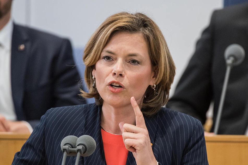 Für ihren Tweet zu den SPD-Personalwechseln erntete Julia Klöckner teils heftige Kritik.