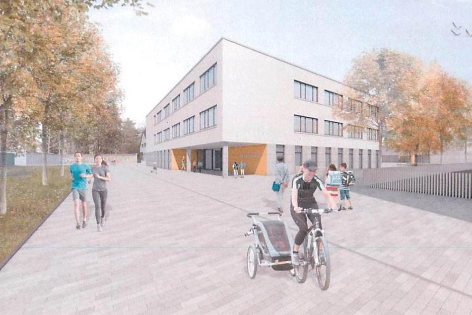 """So soll Dresdens """"hässlichste"""" Schulfassade gerettet werden"""