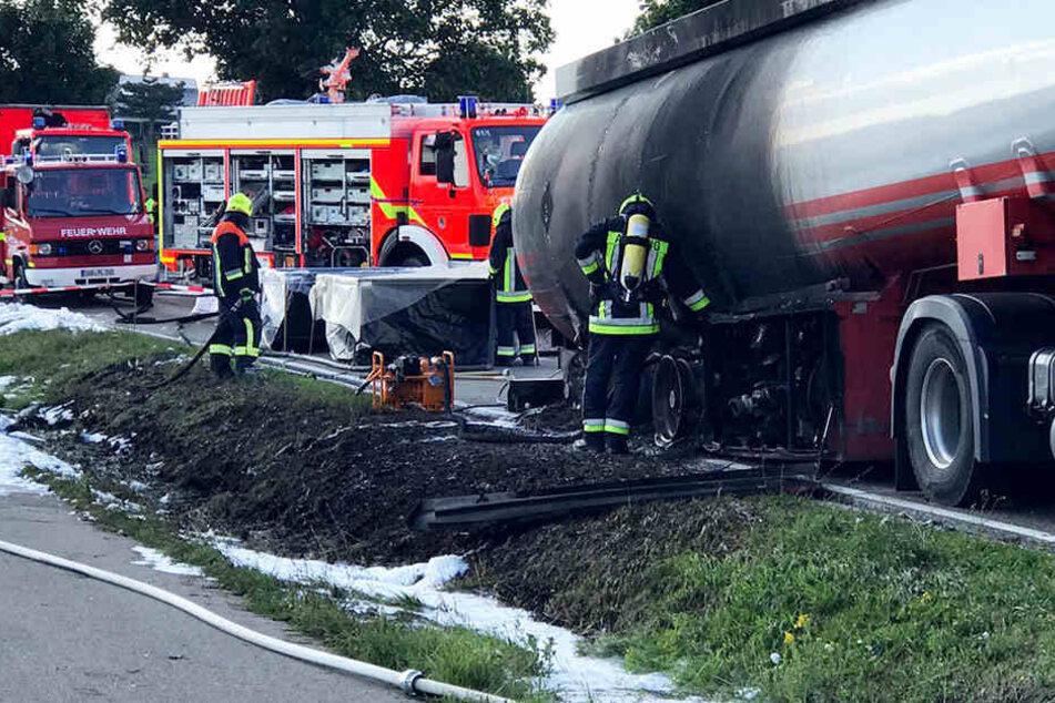 Brennenden Tankwagen aus Wohngebiet gelenkt: Anklage trotz Rettungsaktion!