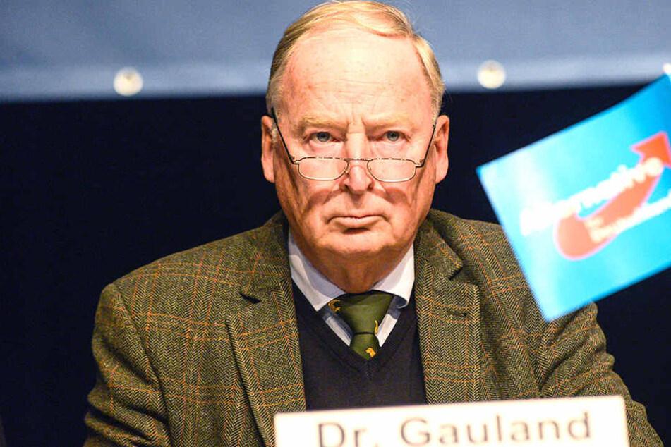 Da die Alternative für Deutschland auch für Demokratie eintritt, sieht Alexander Gauland hier keinen Platz für Nazis.