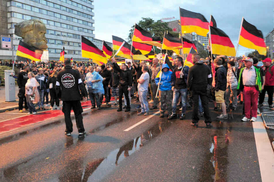 Rassistische Ausschreitungen 2018: Wissenschaftler arbeiten Ereignisse von Chemnitz auf
