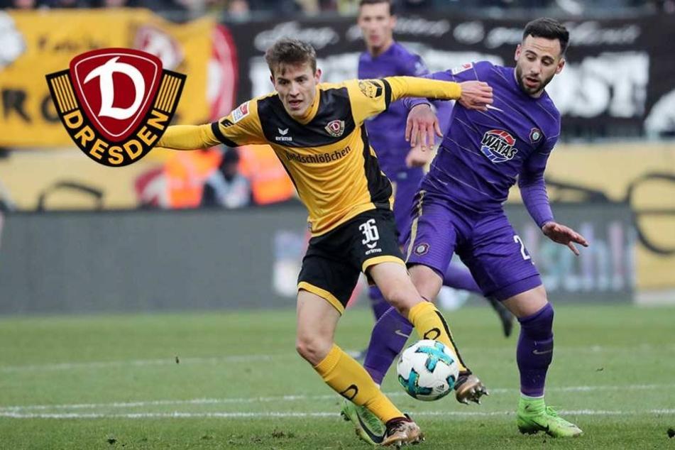 Trotz starkem Aue-Spiel: Dynamos Niklas Hauptmann noch nicht zufrieden