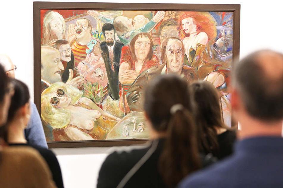 """Rund 20.000 Besucher besuchten am 6. Mai Museen in Leipzig und Halle unter dem diesjährigen  Motto """"Zeig Dich""""."""