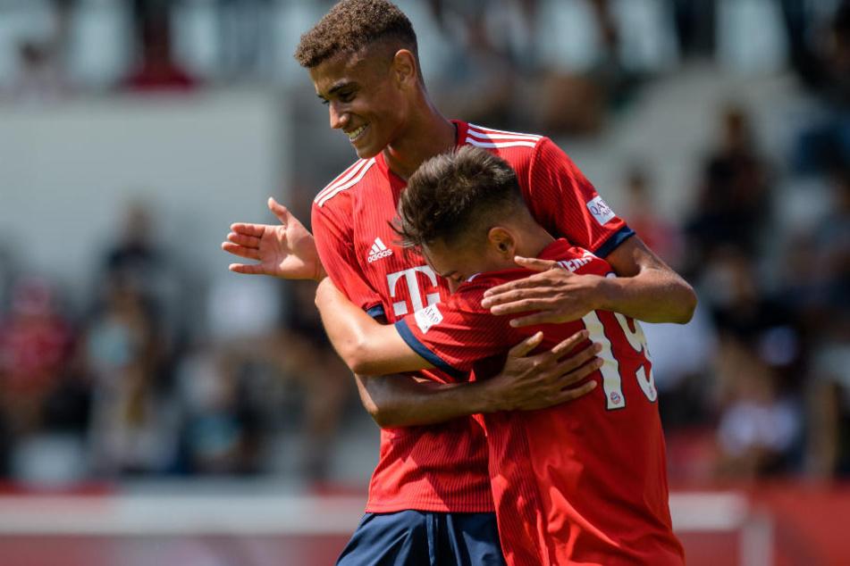 Die Spieler des FC Bayern München hatten allen Grund zur Freude.