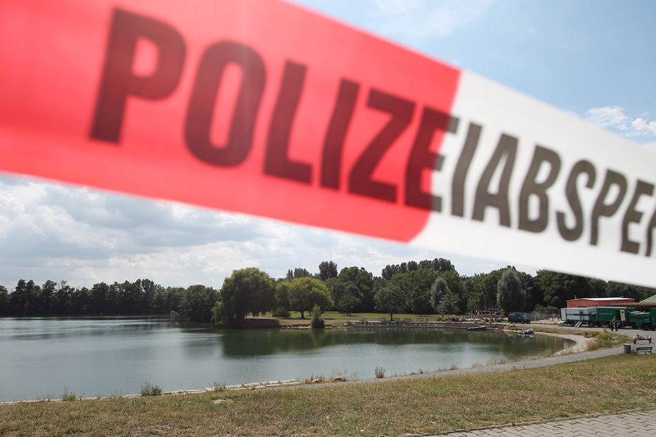 Das Leipziger Naturbad Bagger - hier brachte der Stückelmörder die Leichenteile mit dem Linienbus zum Ufer und versenkte sie anschließend im Wasser.