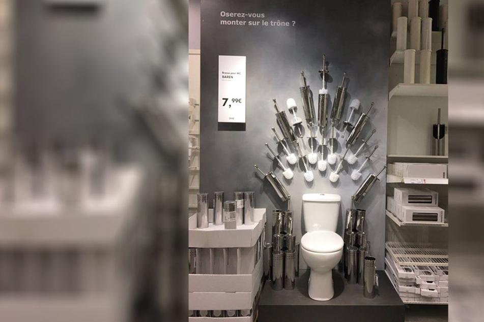 """Ikea zeigt, wie es geht: So macht Ihr Euer Klo zum """"Eisernen Thron"""""""