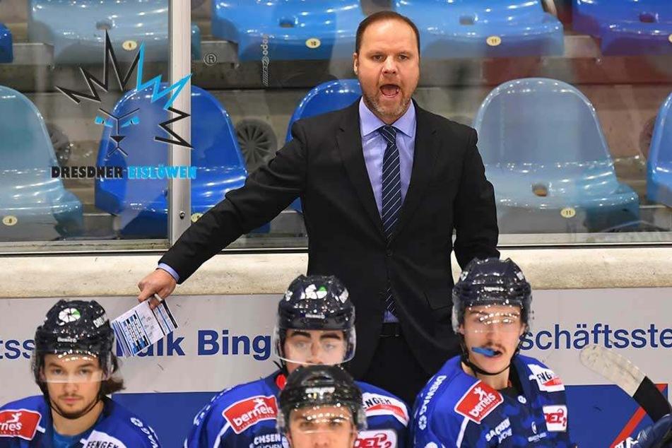 Eislöwen-Coach Gratton verspricht bei Sieg freien Tag