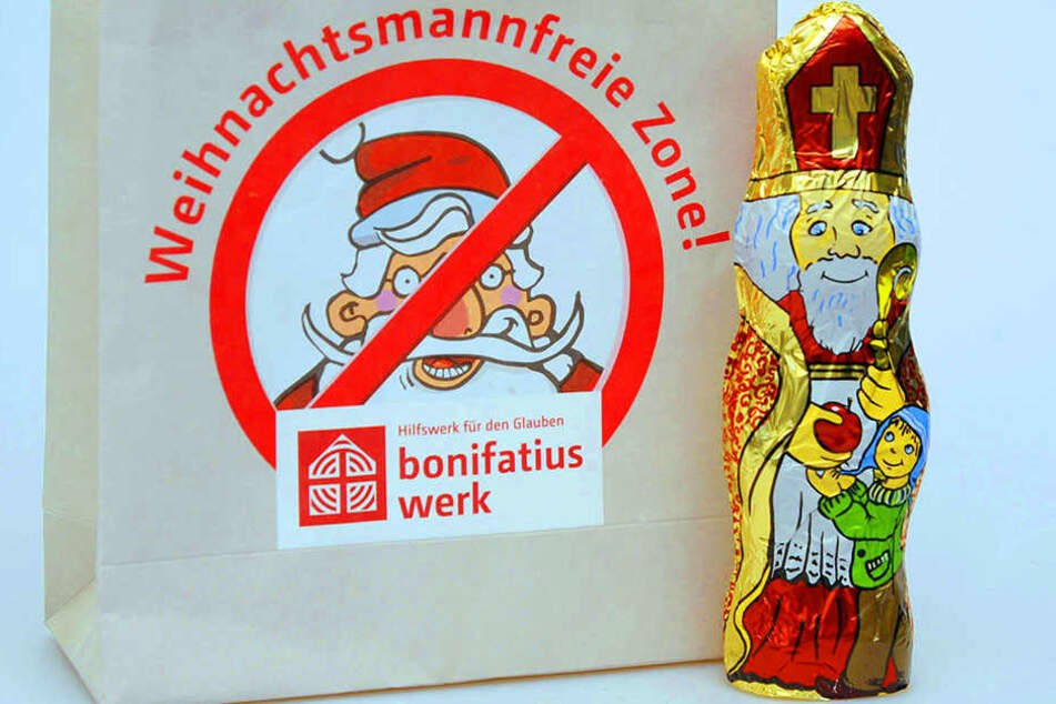 """Deshalb riefen sie die Aktion """"Weihnachtsmannfreie Zone"""" ins Leben."""