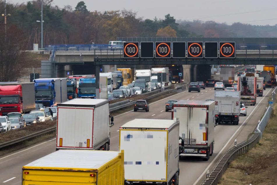 Stau A3 Frankfurt