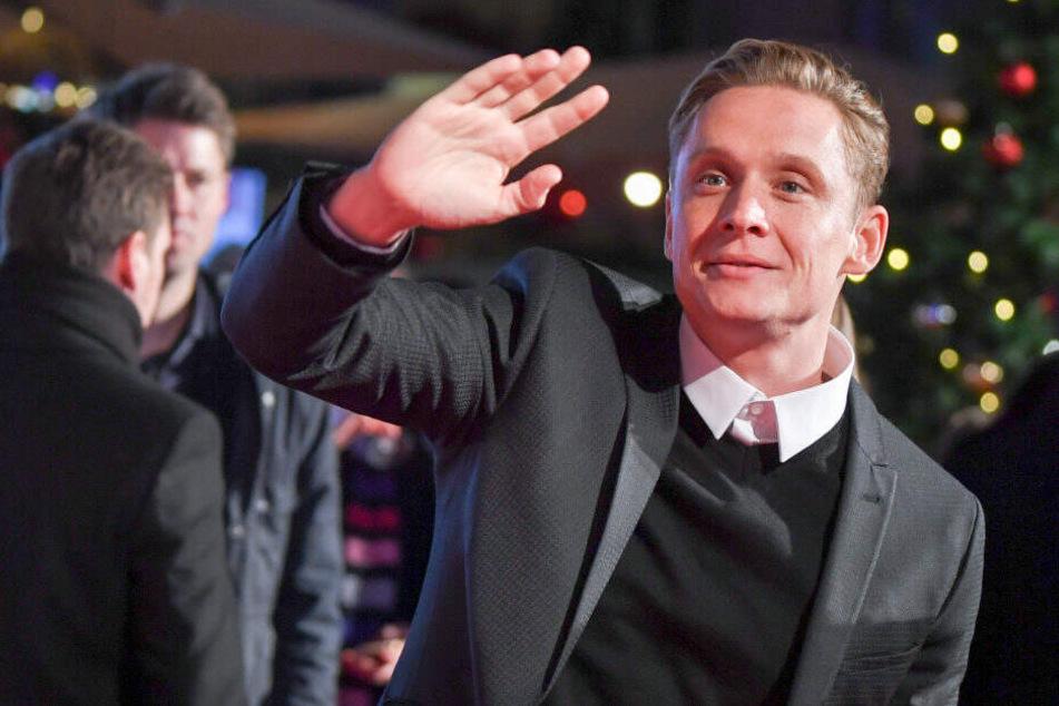 """Im CineStar am Potsdamer Platz werden zahlreiche Premieren gefeiert. Hier zu sehen: Matthias Schweighöfer bei der Premier seines Films """"100 Dinge""""."""