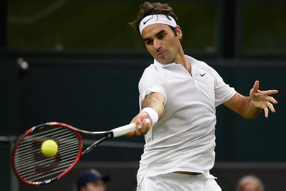 Roger Federer (35) ist der Publikumsliebling der Ostwestfalen. Mit acht Titeln auch Rekordsieger.