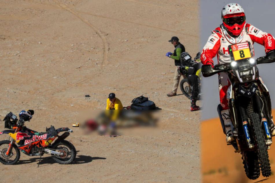 Tod mit nur 40: Motorrad-Star Gonçalves stirbt bei Rallye Dakar