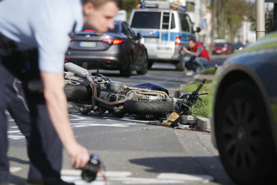 Weniger tödliche Biker-Unfälle in NRW