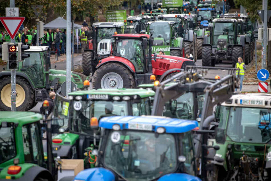 Stuttgart: Frustrierte Landwirte rufen zum Protest in Stuttgart auf