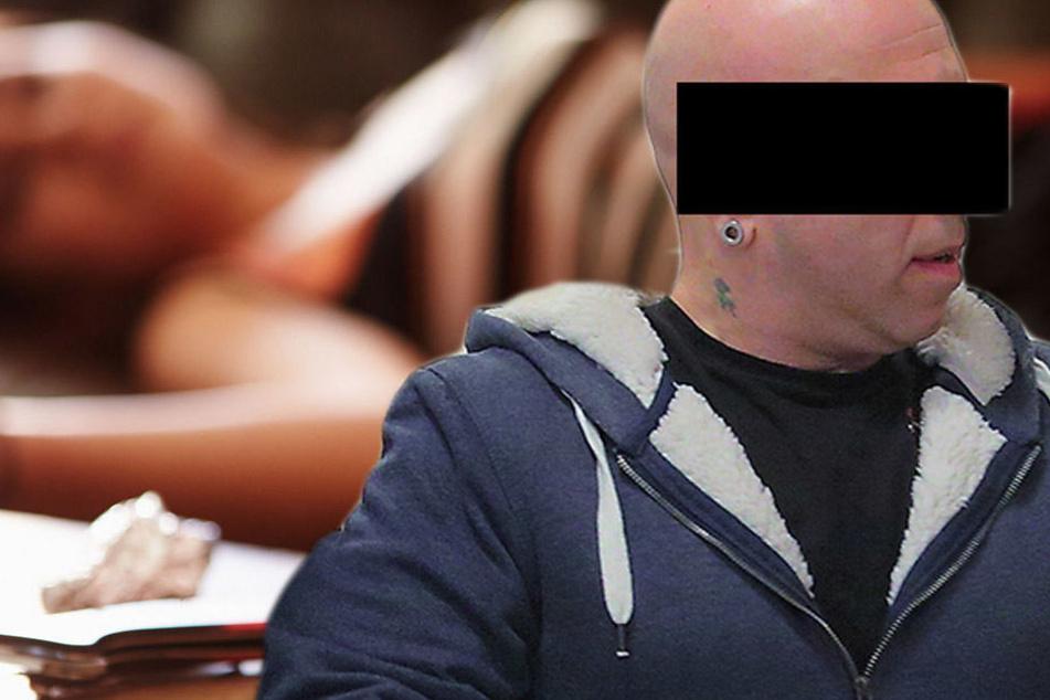 Er gab seiner Tochter Drogen: Uwe G. (43) Mittwoch am Dresdner Amtsgericht.