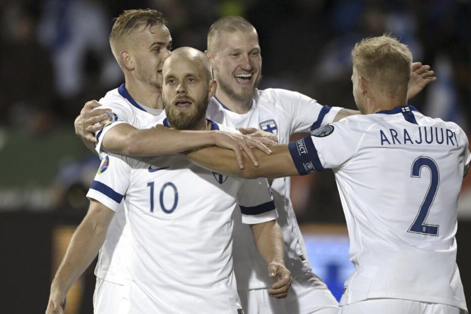Historisch! Pukki ballert Finnland erstmals zur EM