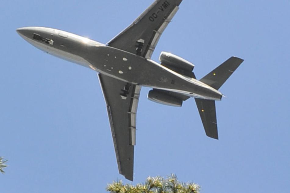 Zur Flugvermessung kommt eine Propellermaschine in den Nächten zum Einsatz. (Symbolbild)