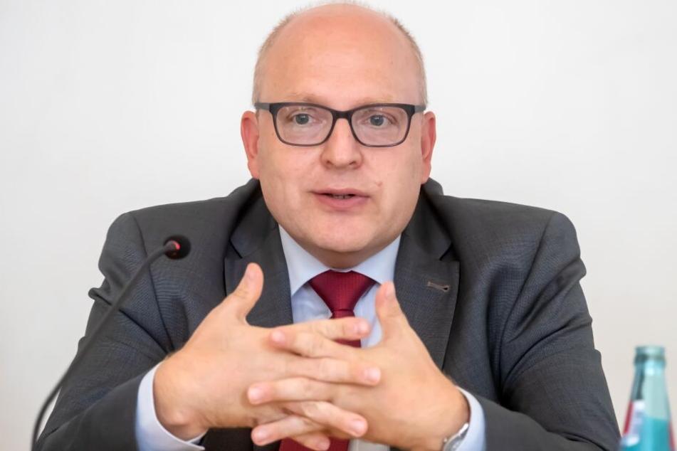 Sven Schulze (47, SPD) will neuer Chemnitzer Bürgermeister werden.