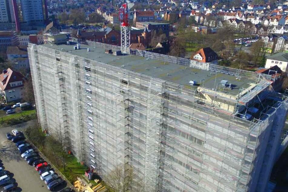 Das Bielefelder Finanzamt wurde von Einbrechern heimgesucht.