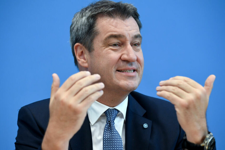 Markus Söder (CSU), Ministerpräsident des Freistaates Bayern.