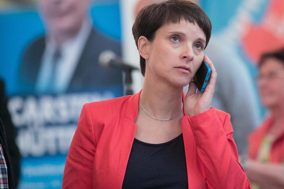 Frauke Petry (41) sieht ihre AfD als Schutzmacht für jüdisches Leben in Deutschland.