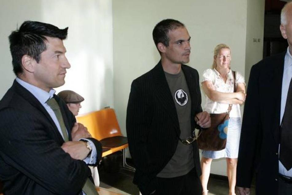 Markus Roscher (links) vertrat schon deutsche Promis vor Gericht. Nun kandidiert er für die AfD.