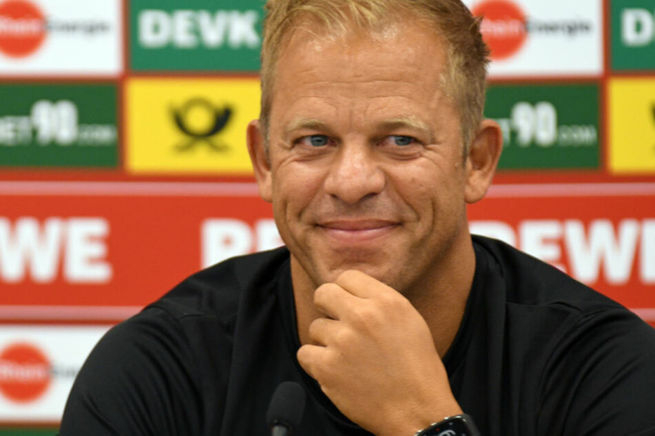 Trainer Markus Anfang und das Team des 1. FC Köln wollen diese Saison wiederaufsteigen.