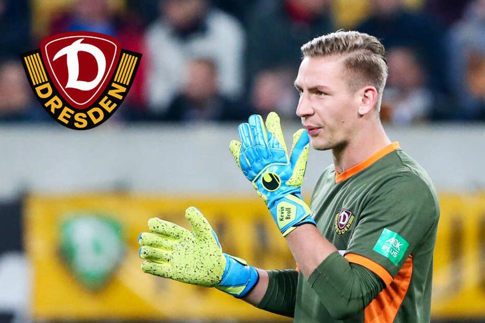 """Aus Dynamo-Keeper Broll platzt es heraus: """"Das ärgert mich brutal!"""""""