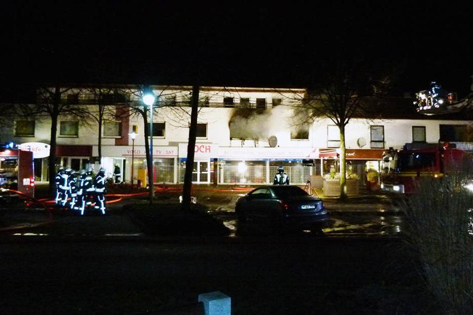 Am frühen Sonntagmorgen brannte die Wohnung komplett aus.