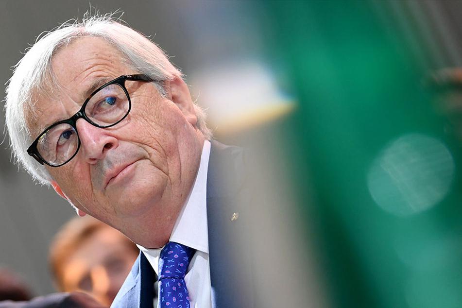 Jean-Claude Juncker ist offenbar vom Hin und Her einiger EU-Staats- und Regierungschefs genervt.