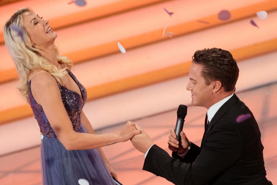 Heiratsantrag im Live-TV! Was hat sich Stefan Mross nur dabei gedacht?
