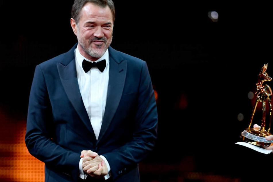 Sebastian Koch wurde bei der Bambi-Verleihung als bester Schauspieler geehrt.