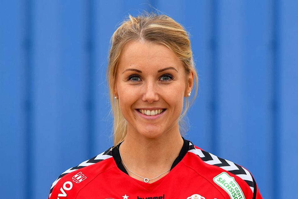 Mareen von Römer, wertvollste Spielerin gegen Aachen.