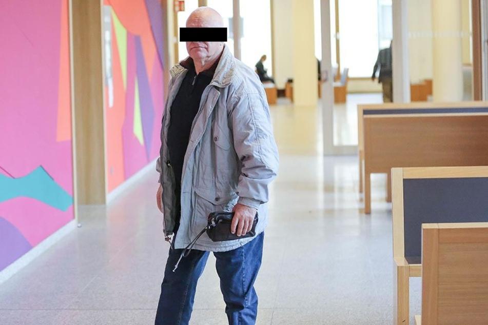 Heinz K. (65) erklärte sich am Mittwoch dem Richter.