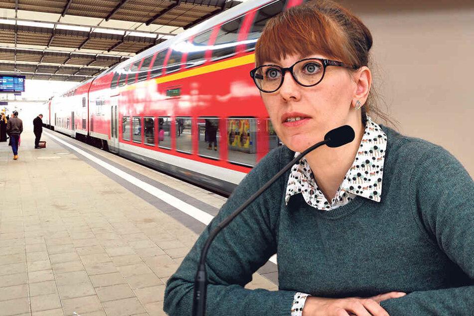 Die verkehrspolitische Sprecherin der Grünen im Landtag, Katja Meier (37).