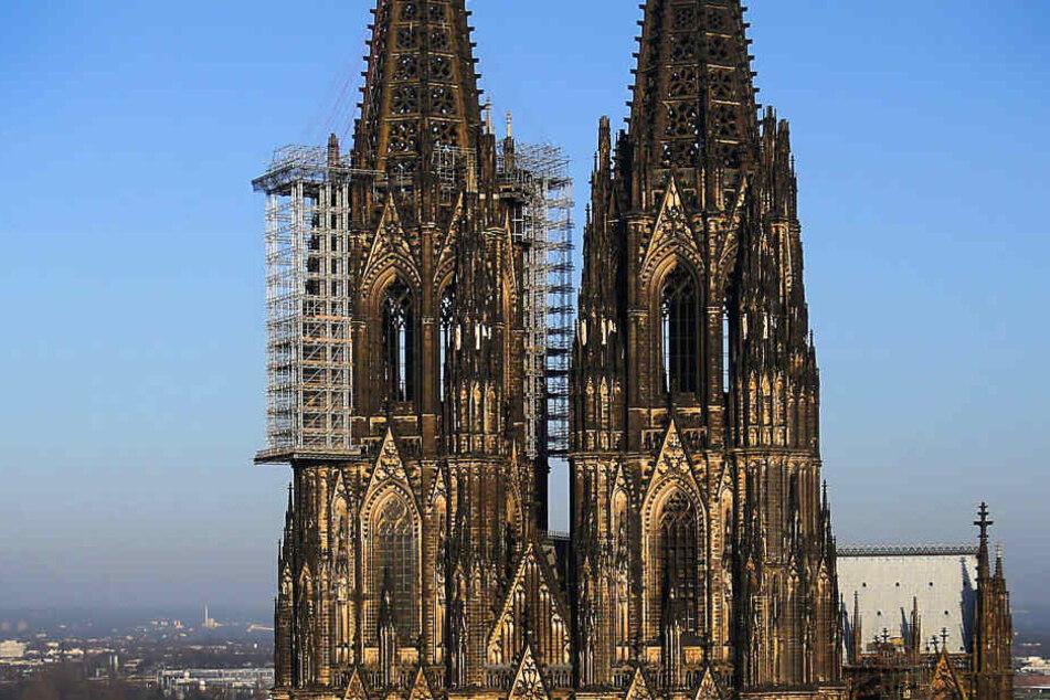 Die Fassade des Doms in Köln.